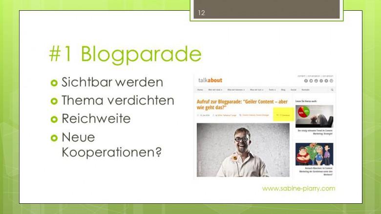 Mit Blogparaden Experten und interessante Menschen entdecken